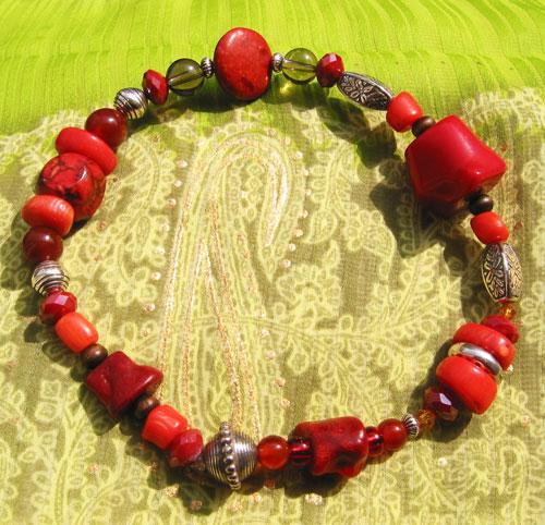 Rote Koralle – Vereinigung von Himmel und Erde
