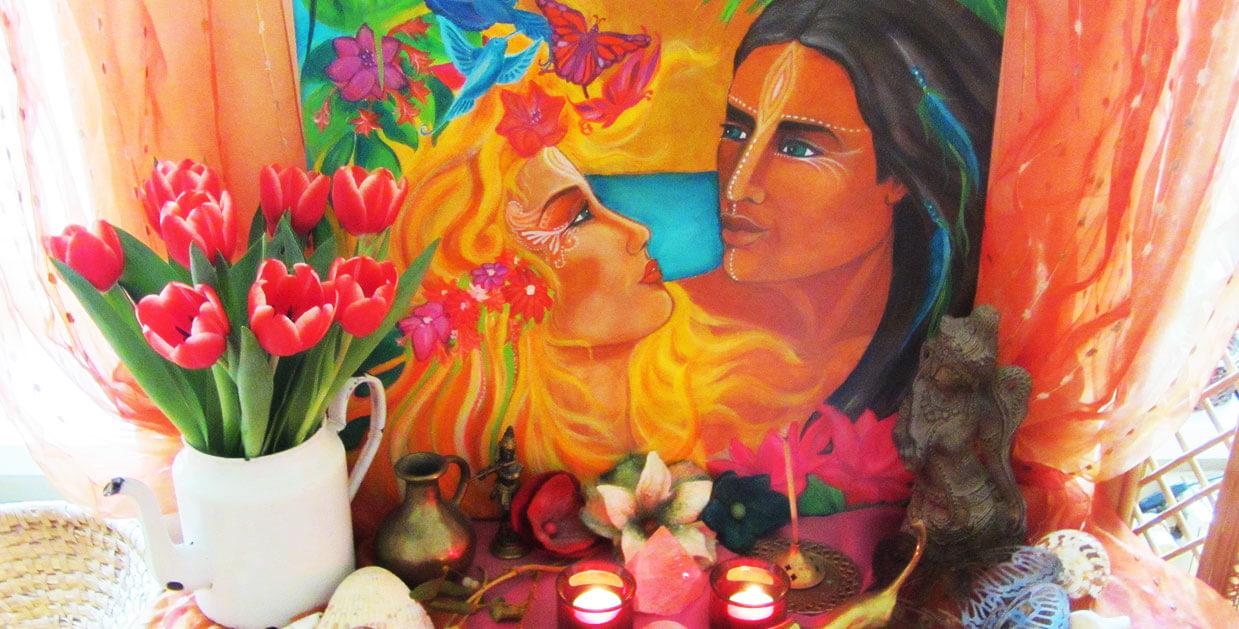 Ritualarbeit, Visualisierung, Rauhnächte