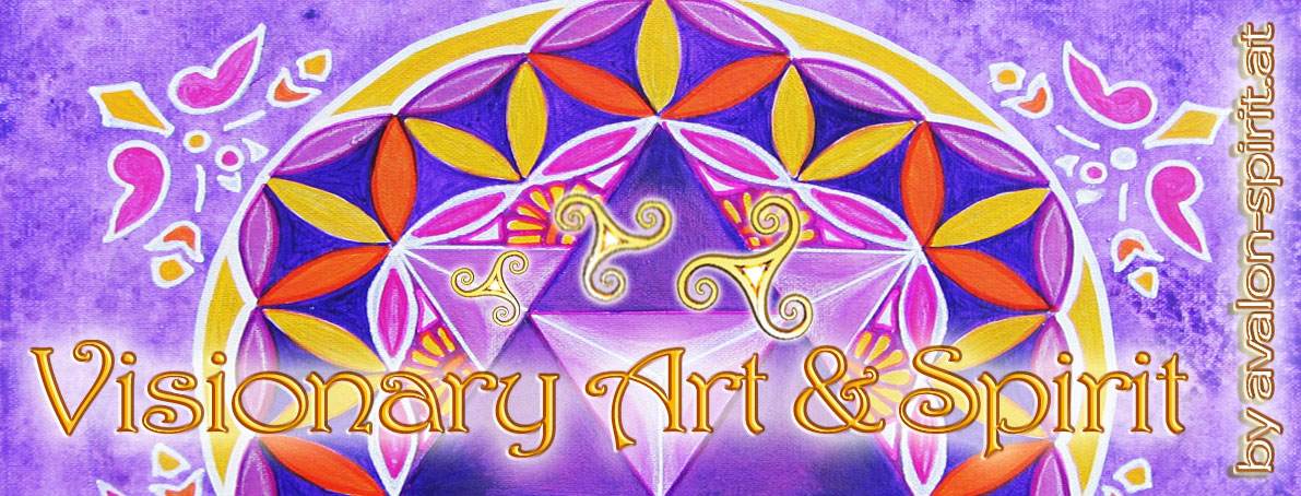 Die Schwingung der Farbe Violett