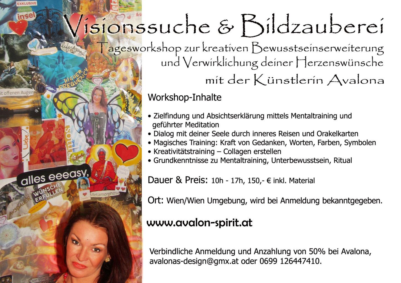 Visionssuche & Bildzauberei