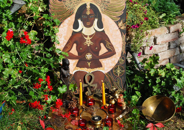 Hexenfest Mabon – Dank der Erdenmutter mit Feuerritual