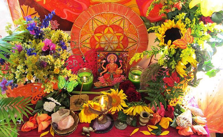 Ritualarbeit, Magie, Altar